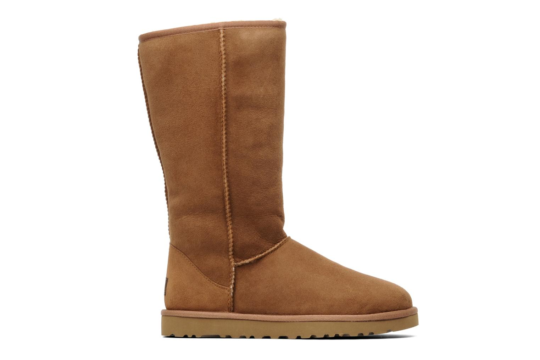 Stiefeletten & Boots UGG Classic Tall beige ansicht von hinten