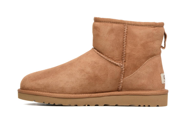 Bottines et boots UGG Classic Mini Marron vue face