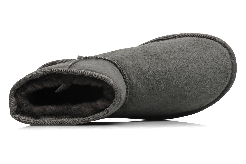 Bottines et boots UGG Classic Mini Gris vue gauche
