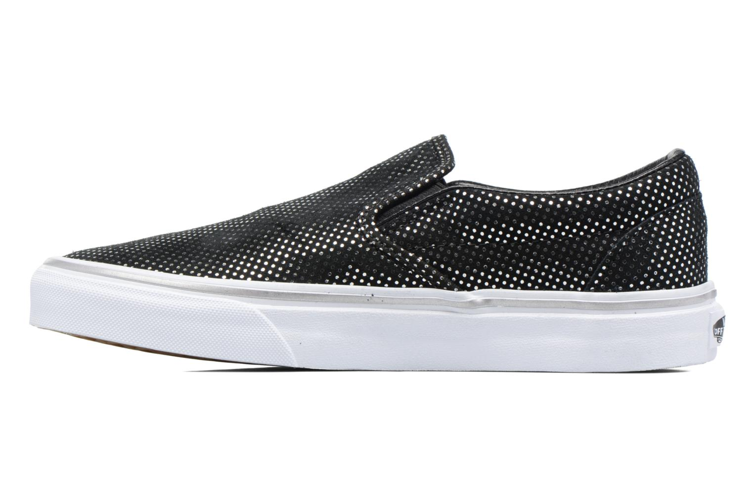 Baskets Vans Classic Slip On W Noir vue face