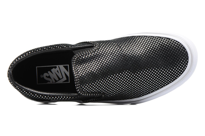 Baskets Vans Classic Slip On W Noir vue gauche