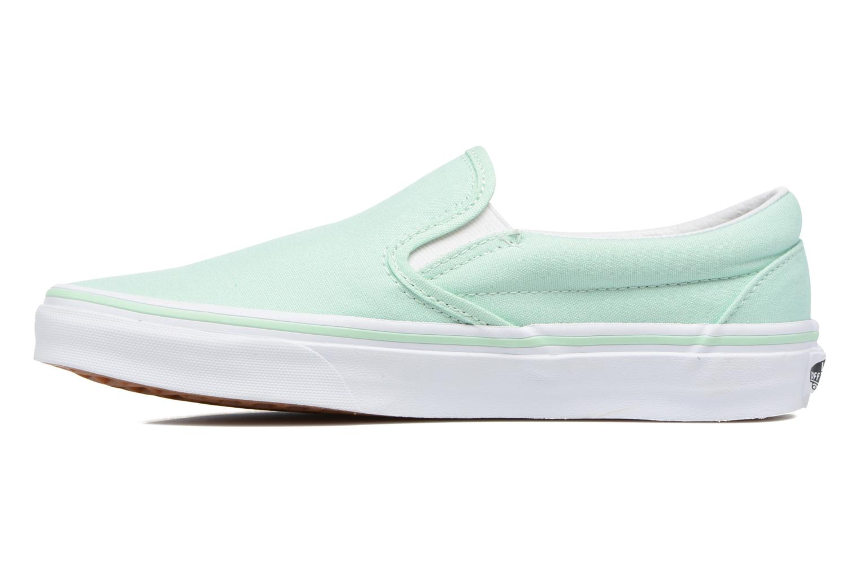 Sneakers Vans Classic Slip On W Grön bild från framsidan