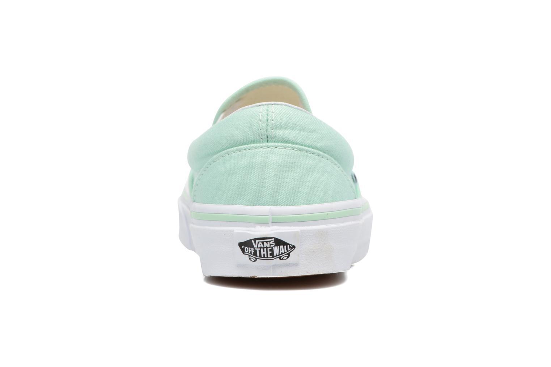 Sneakers Vans Classic Slip On W Grön Bild från höger sidan
