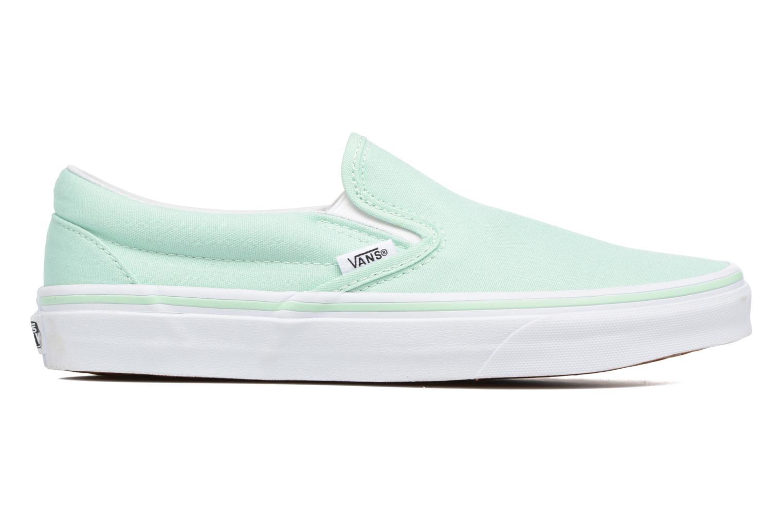 Sneakers Vans Classic Slip On W Grön bild från baksidan