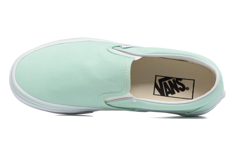 Sneakers Vans Classic Slip On W Grön bild från vänster sidan