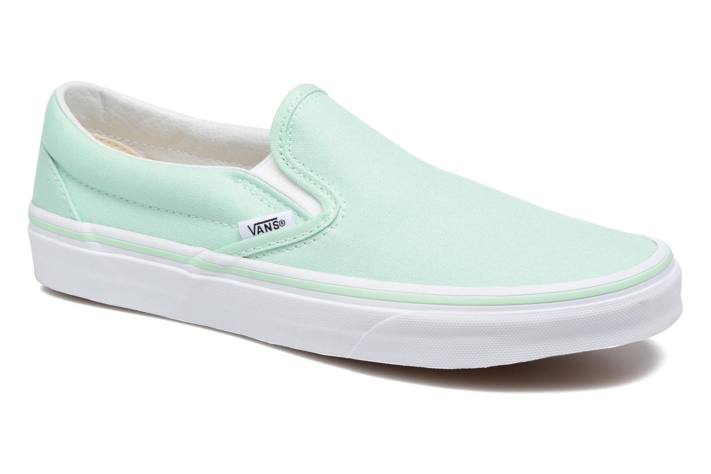 Sneakers Vans Classic Slip On W Grön detaljerad bild på paret