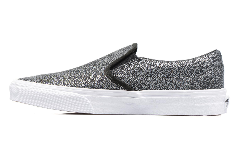 Sneaker Vans Classic Slip On W grau ansicht von vorne