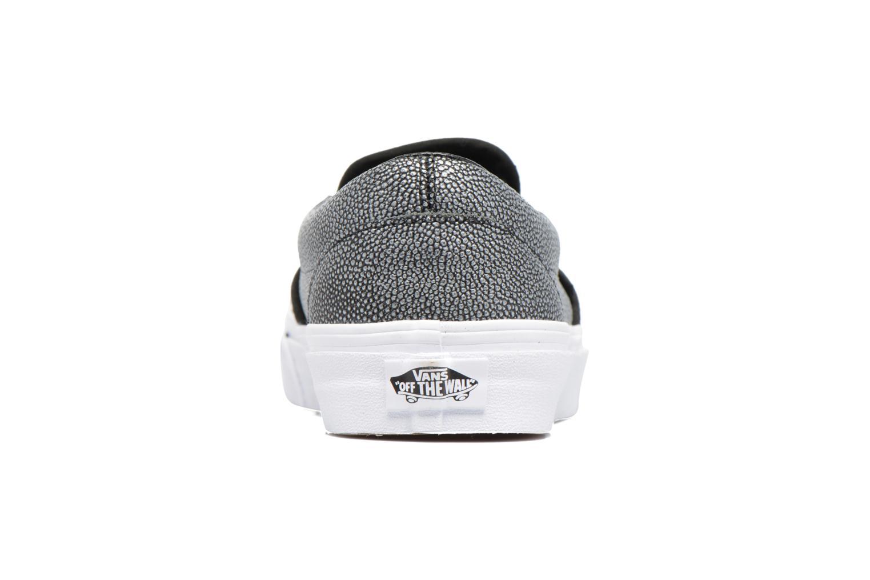Baskets Vans Classic Slip On W Gris vue droite