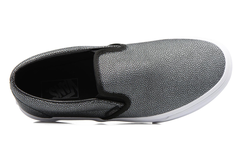 Sneaker Vans Classic Slip On W grau ansicht von links