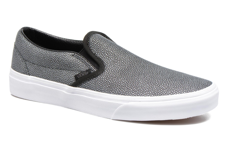 Sneaker Vans Classic Slip On W grau detaillierte ansicht/modell
