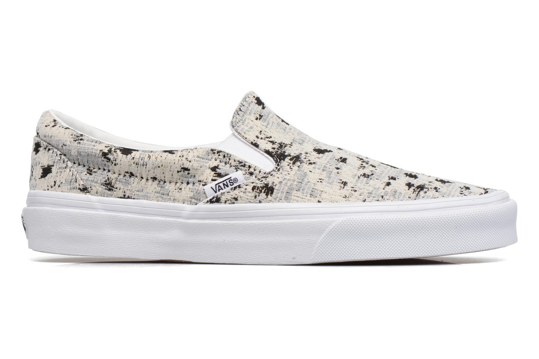 Sneakers Vans Classic Slip On W Hvid se bagfra