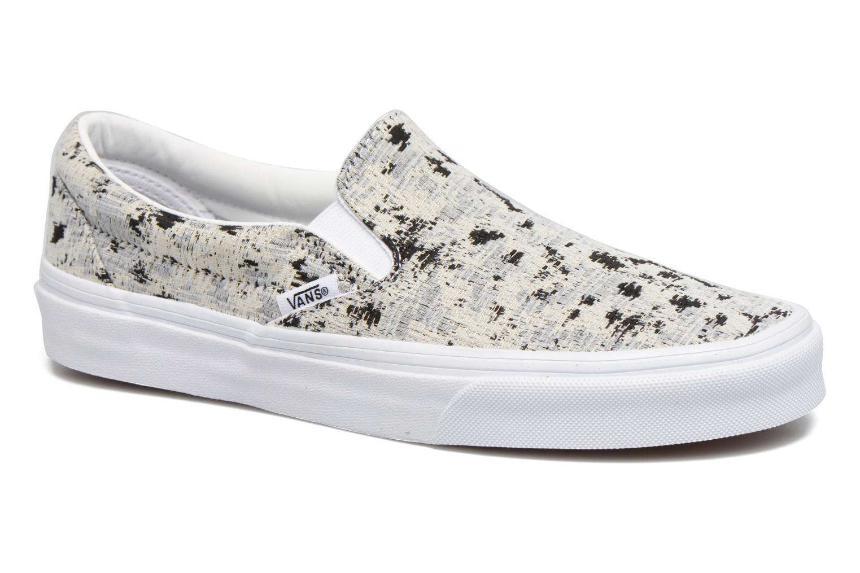 Sneakers Vans Classic Slip On W Hvid detaljeret billede af skoene
