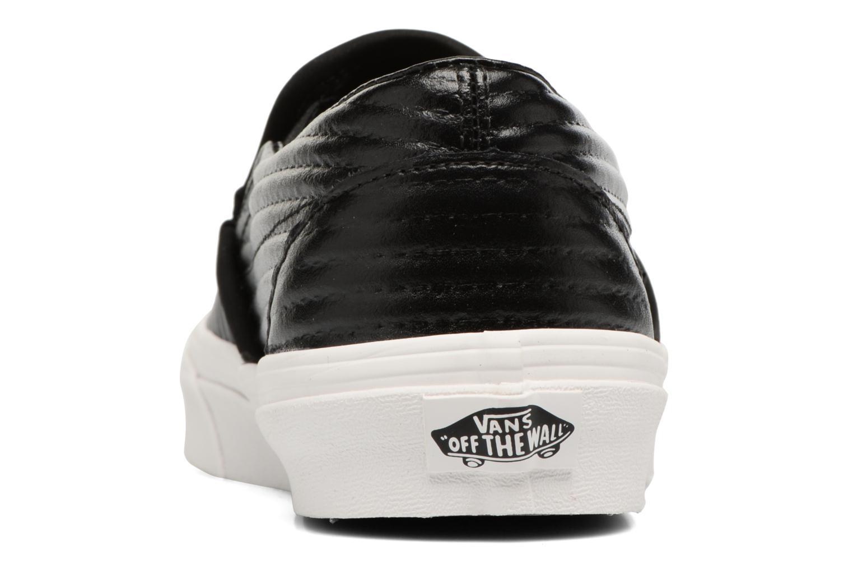 Classic Slip On W Black/Blanc De Blanc