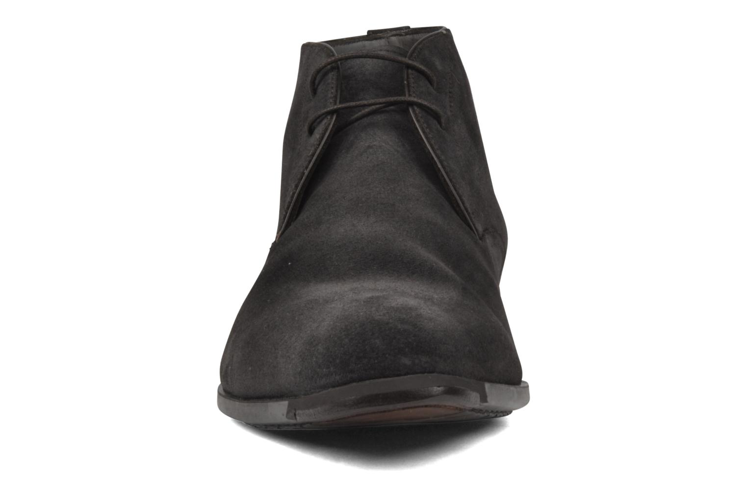 Ankle boots Santoni William 7416 Grey model view
