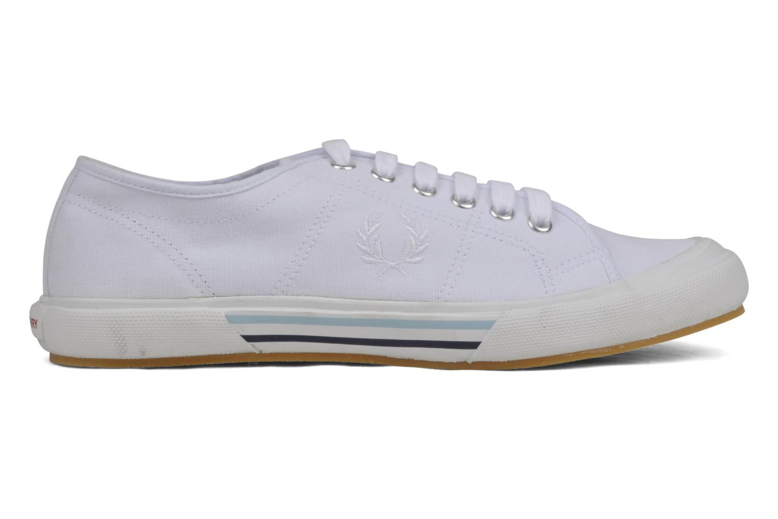 Baskets Fred Perry B708 Blanc vue derrière