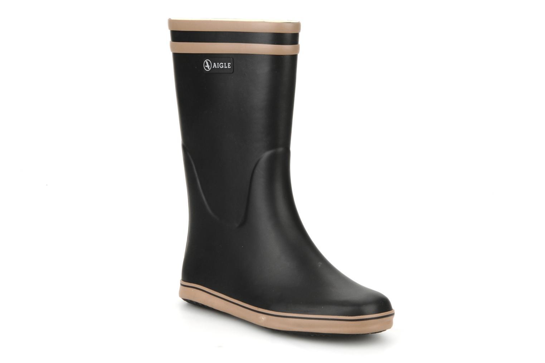 Bottines et boots Aigle Malouine Noir vue détail/paire