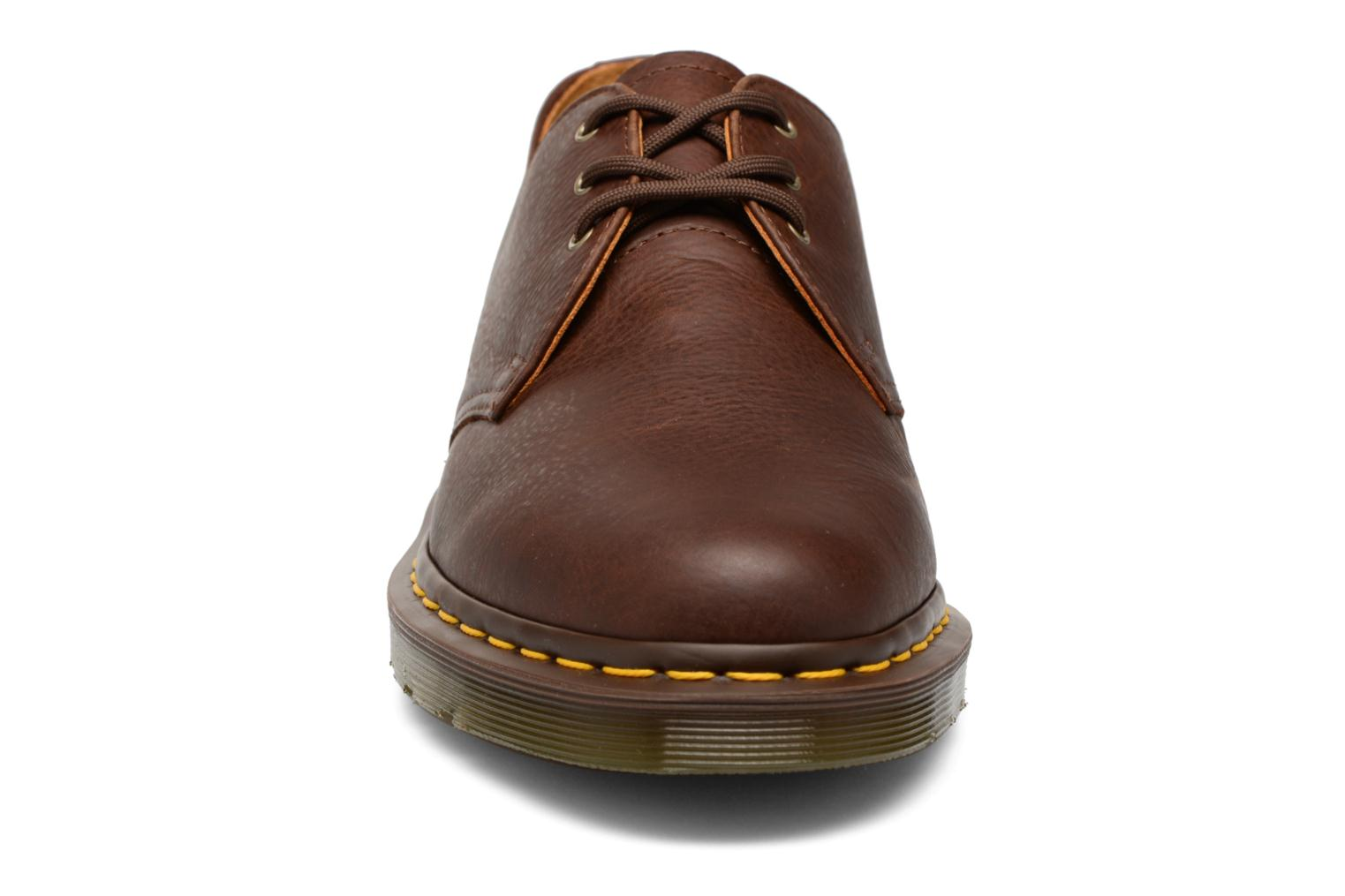 Lace-up shoes DR. Martens 1461 Brown model view