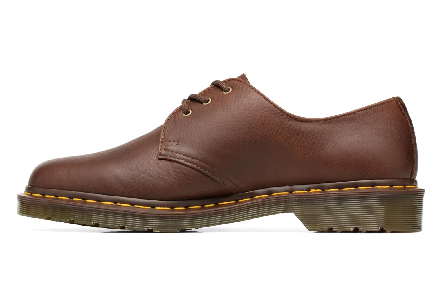 Lace-up shoes DR. Martens 1461 Brown front view
