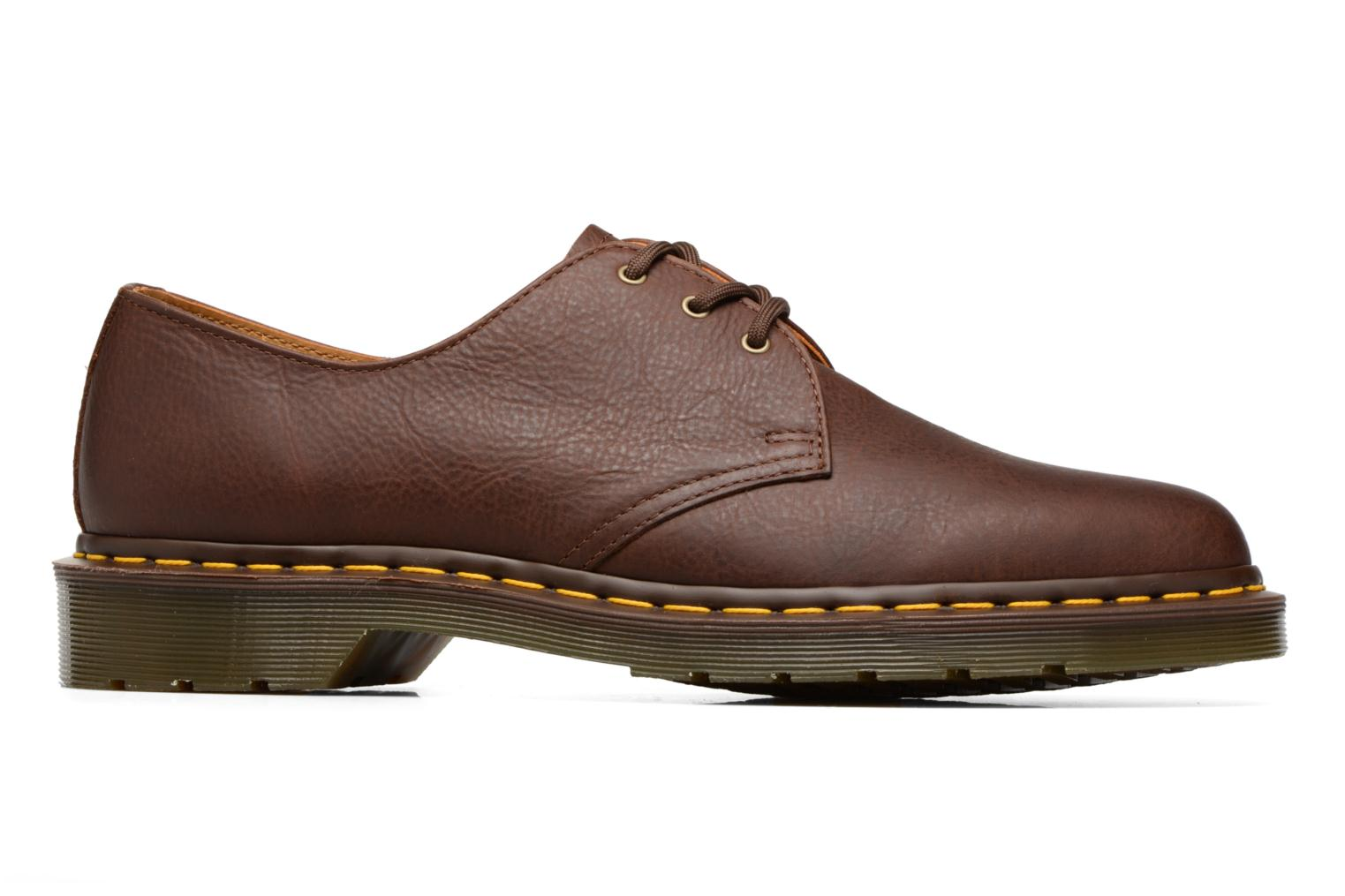 Lace-up shoes DR. Martens 1461 Brown back view