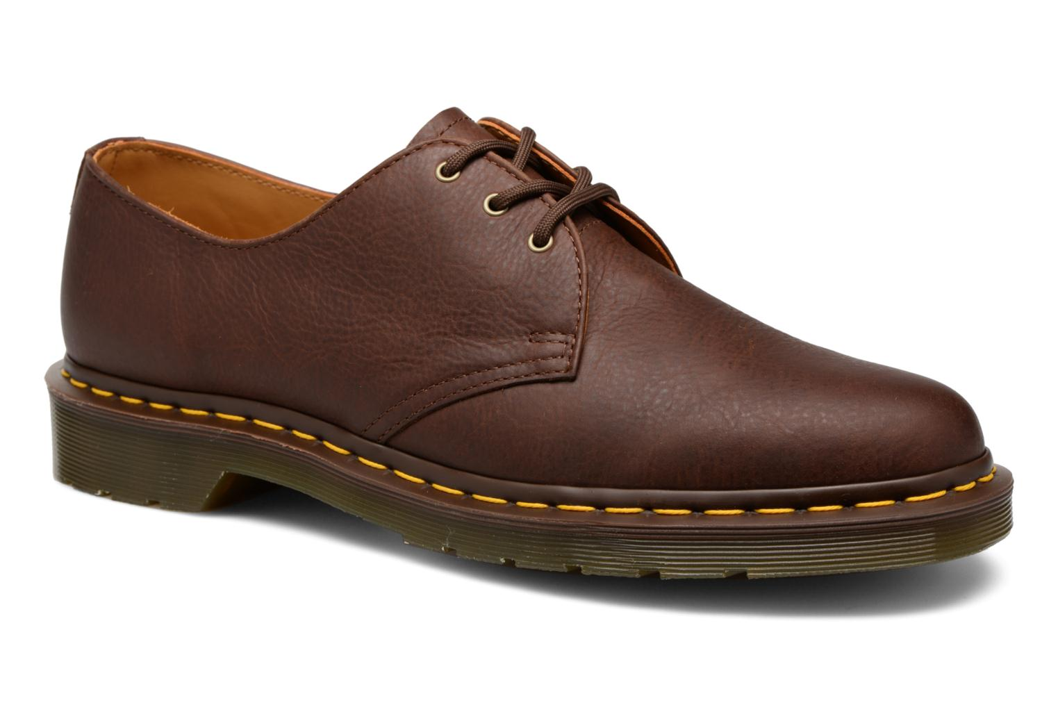 Lace-up shoes DR. Martens 1461 Brown detailed view/ Pair view