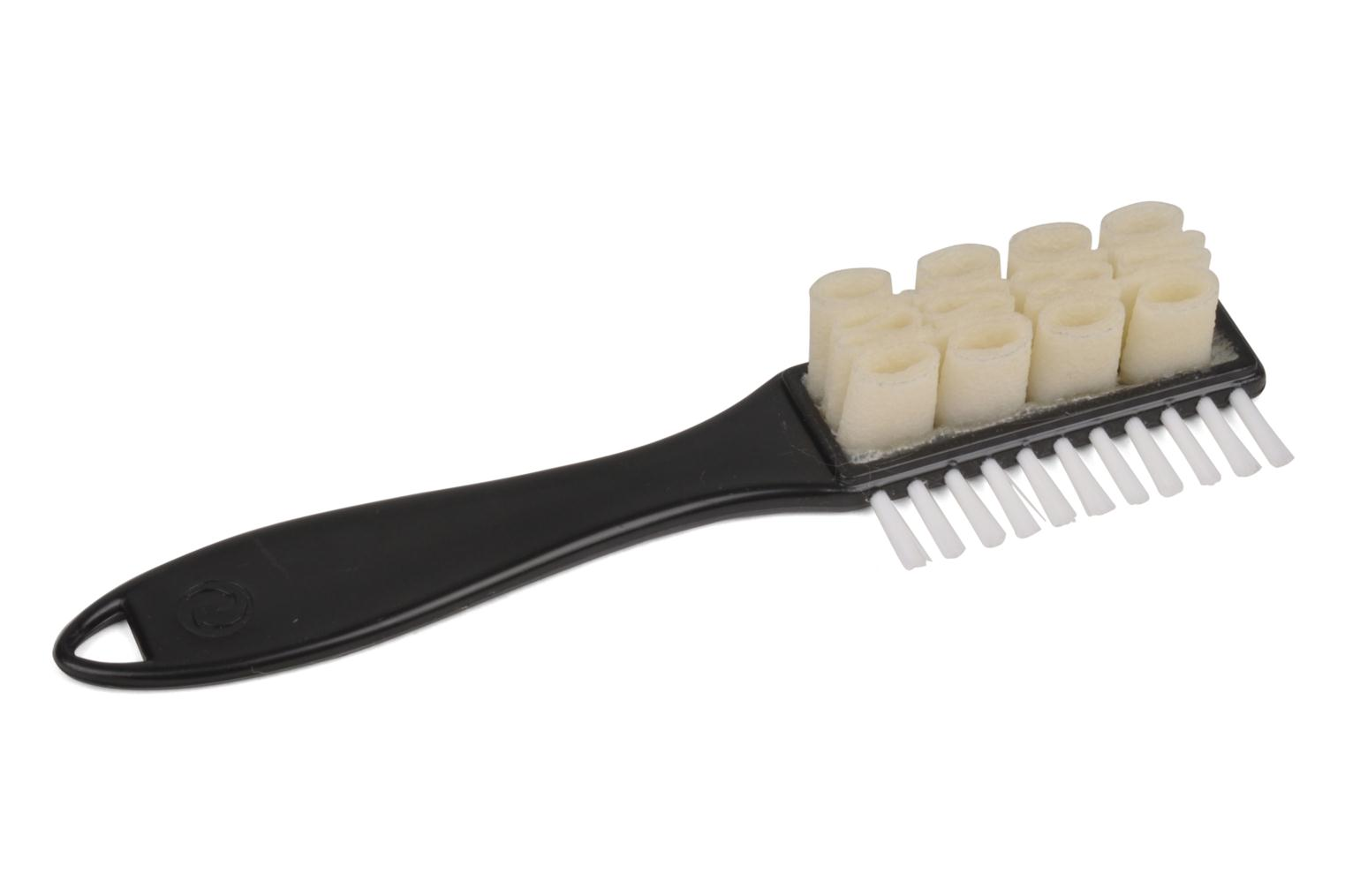 Double suede shoes nubuck cleaning brush  Noir