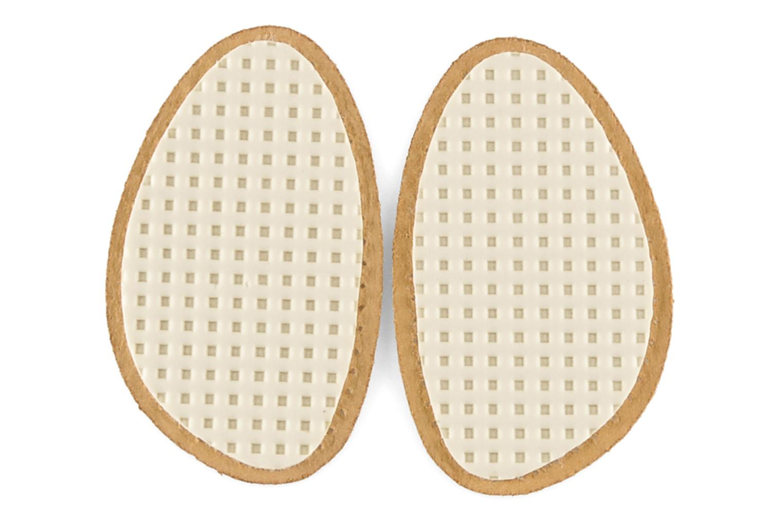 Semelles Famaco Demi-semelle cuir et latex Beige vue face