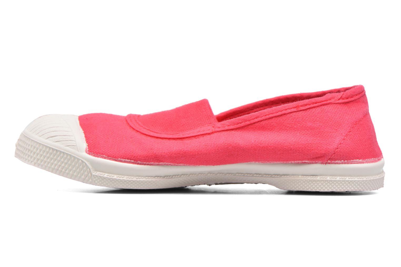 Ballerina's Bensimon Tennis Elastique E Roze voorkant