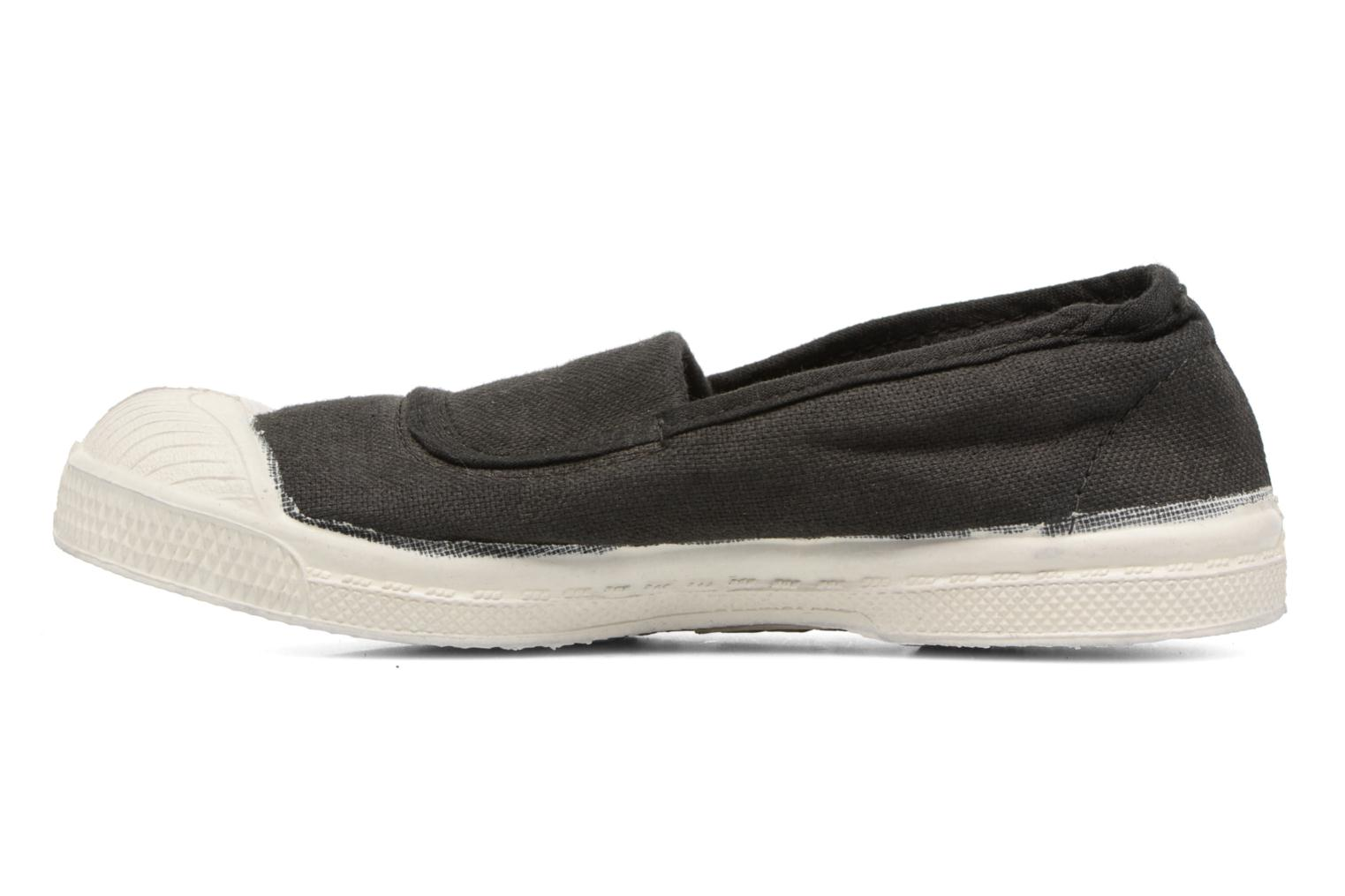Ballet pumps Bensimon Tennis Elastique E Black front view