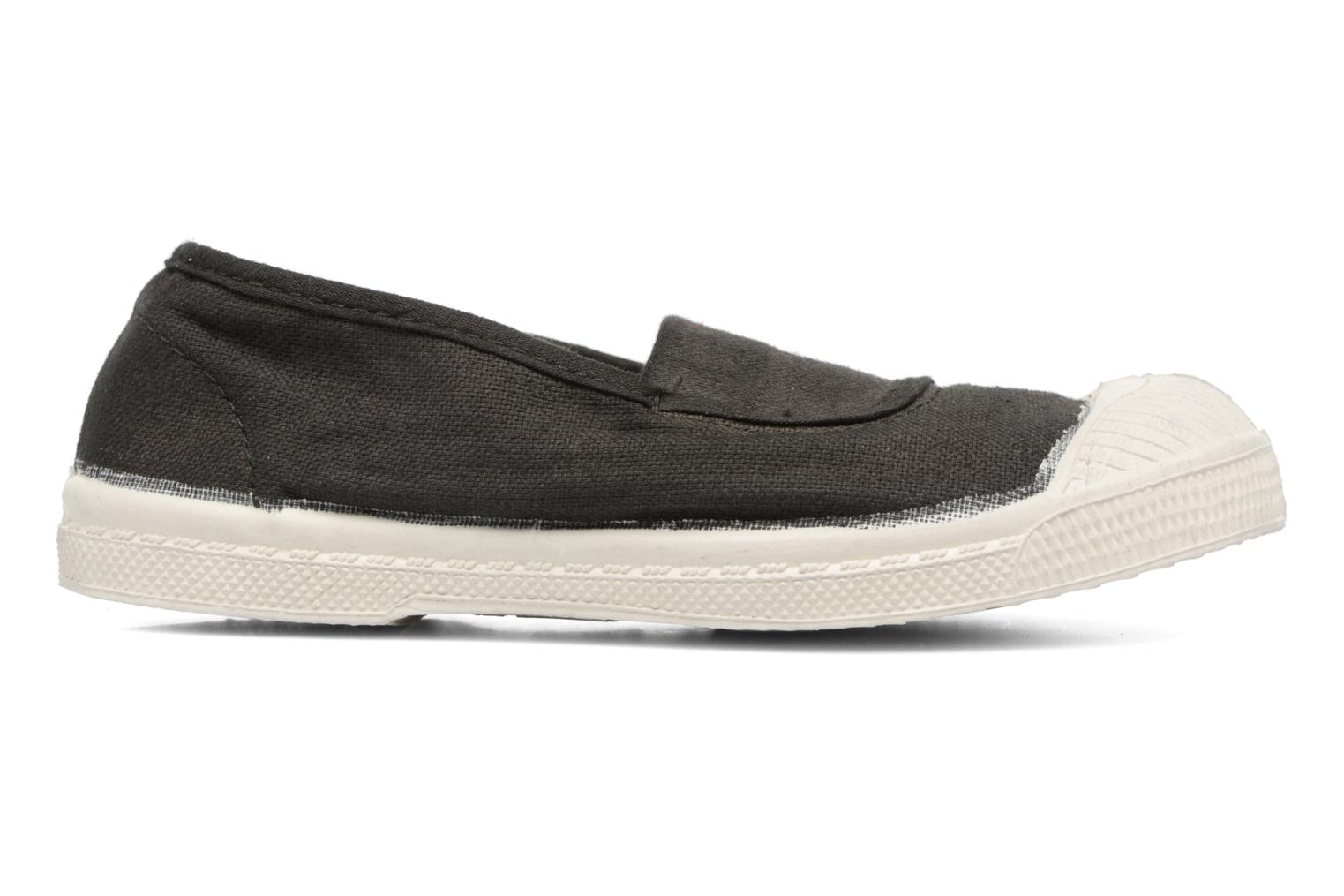 Ballet pumps Bensimon Tennis Elastique E Black back view