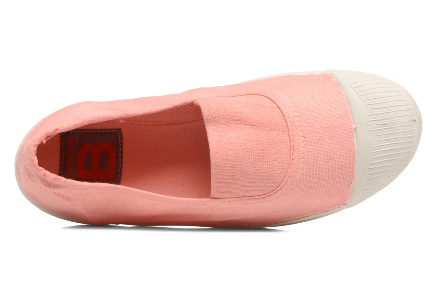 Tennis Elastique E Rose Ballerine 2
