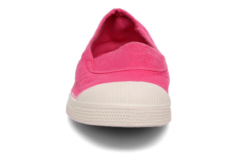 Ballet pumps Bensimon Tennis Elastique E Pink model view