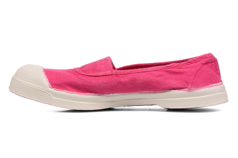 Ballerinas Bensimon Tennis Elastique E rosa ansicht von vorne
