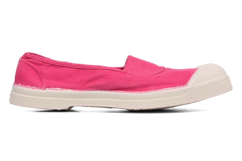 Ballet pumps Bensimon Tennis Elastique E Pink back view