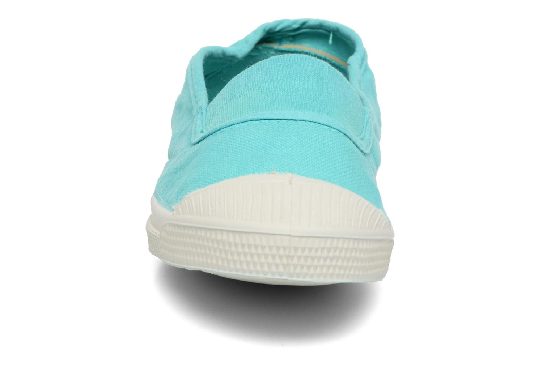 Ballerina Bensimon Tennis Elastique E Blå bild av skorna på