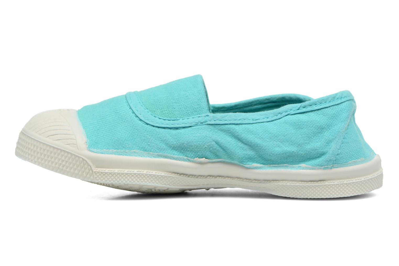 Ballet pumps Bensimon Tennis Elastique E Blue front view