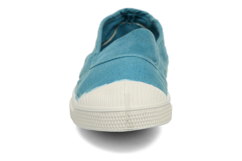 Ballerinas Bensimon Tennis Elastique E blau schuhe getragen