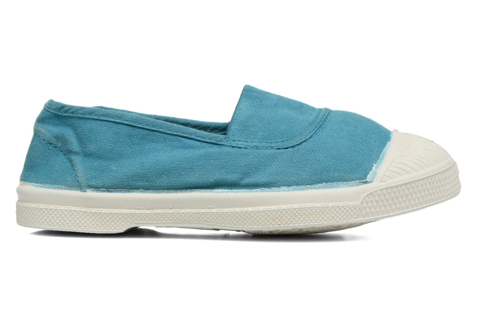 Ballet pumps Bensimon Tennis Elastique E Blue back view