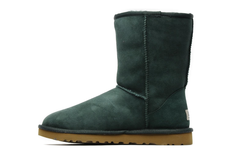 Bottines et boots UGG Classic Short Vert vue face