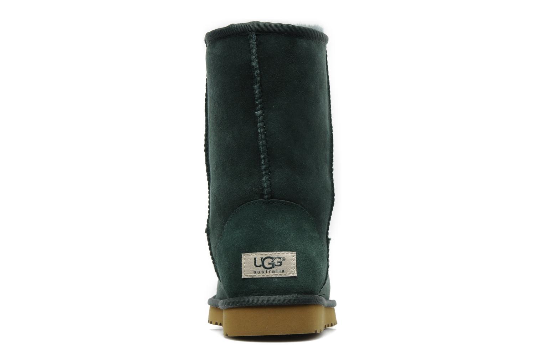 Boots en enkellaarsjes UGG Classic Short Groen rechts