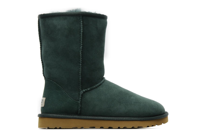 Bottines et boots UGG Classic Short Vert vue derrière