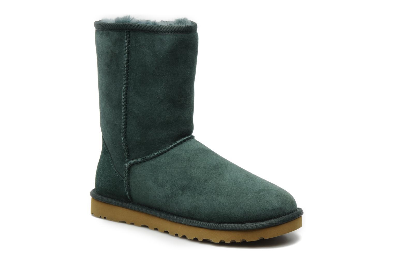 Bottines et boots UGG Classic Short Vert vue détail/paire