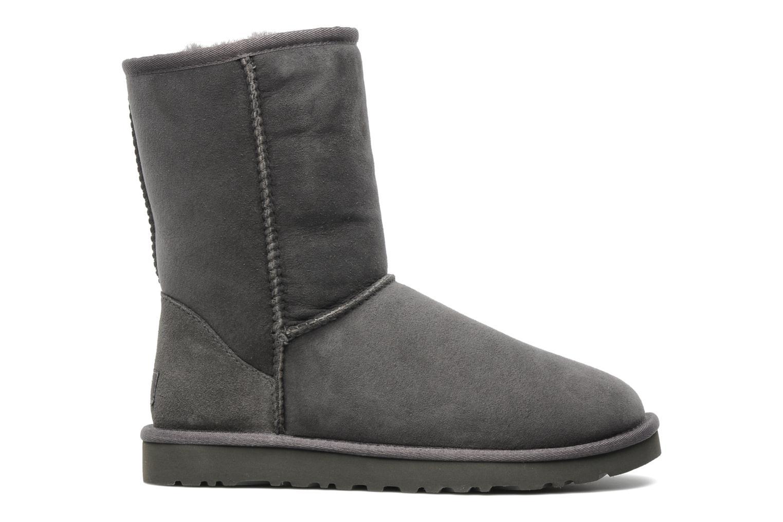 Bottines et boots UGG Classic Short Gris vue derrière