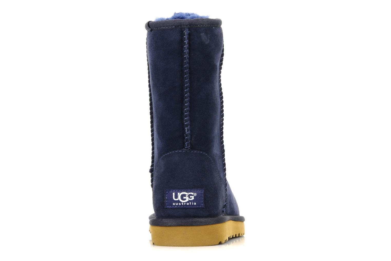 Stiefeletten & Boots UGG Classic Short blau ansicht von rechts