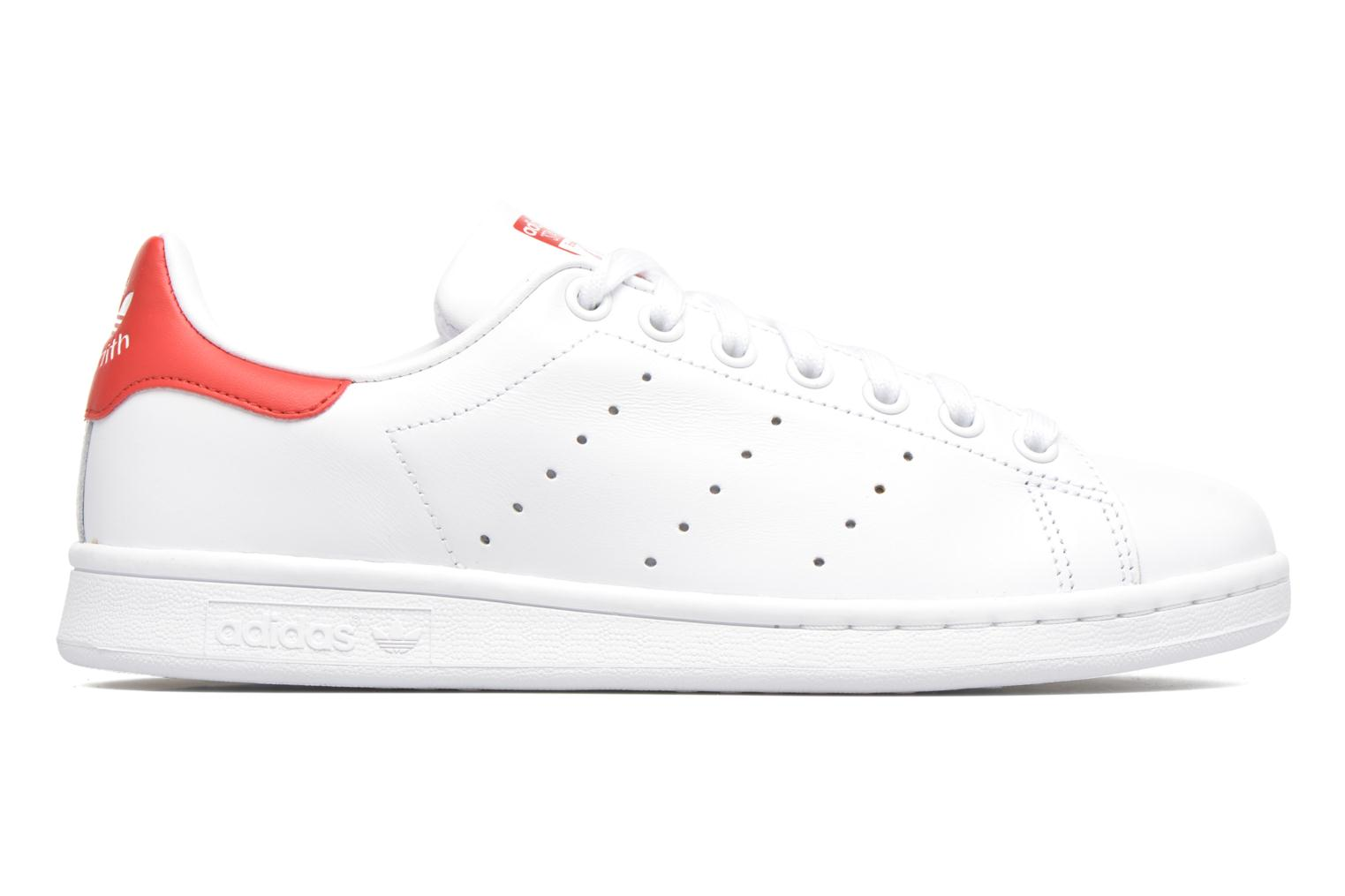 Stan Smith Blanc/Blanc/Rougco