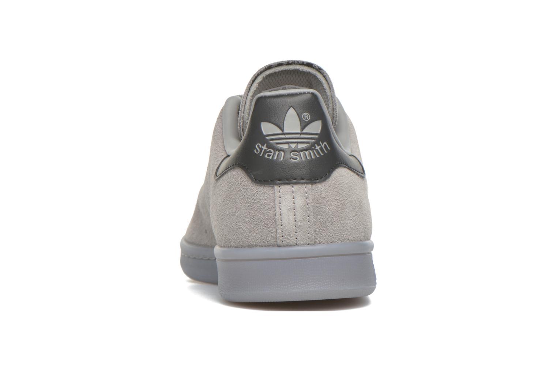 Baskets Adidas Originals Stan Smith Gris vue droite