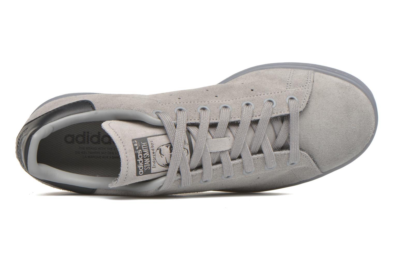 Baskets Adidas Originals Stan Smith Gris vue gauche