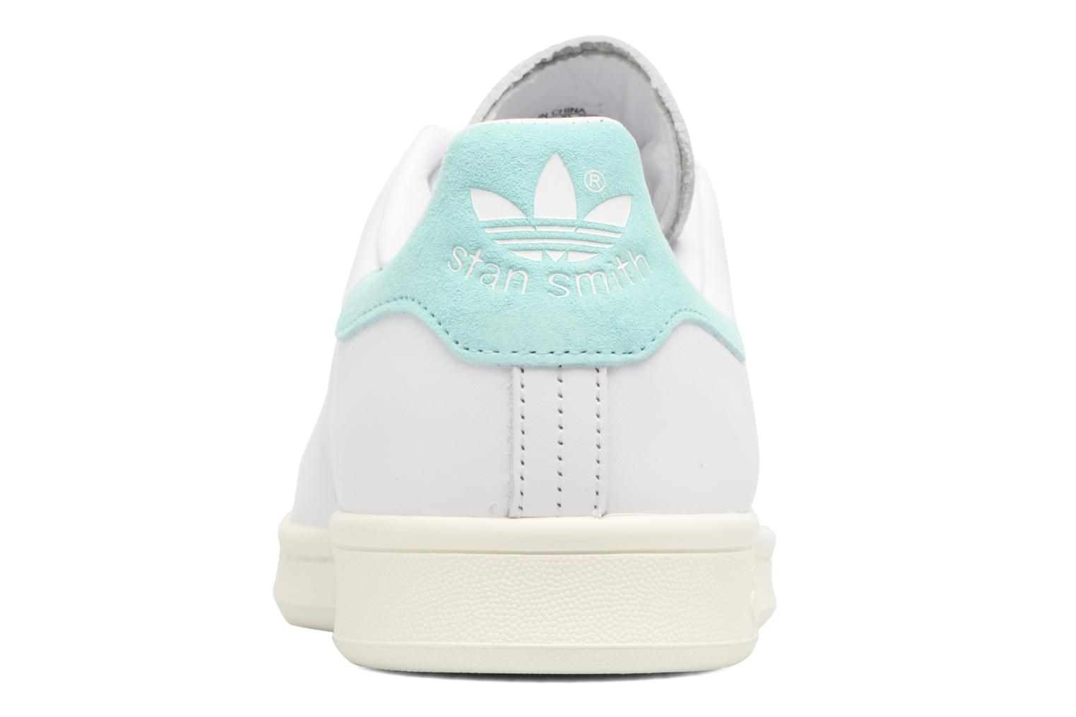 Trainers Adidas Originals Stan Smith Blue view from the right
