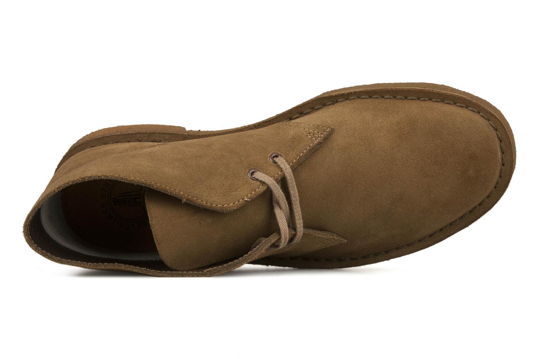 Bottines et boots Clarks Desert Boot M Marron vue gauche