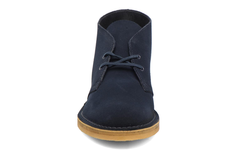 Bottines et boots Clarks Desert Boot M Bleu vue portées chaussures