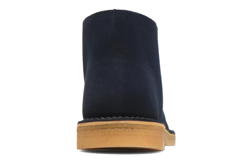 Bottines et boots Clarks Desert Boot M Bleu vue droite
